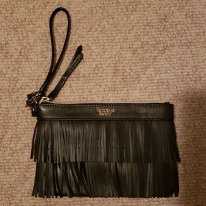 Victoria's secret fringe clutch